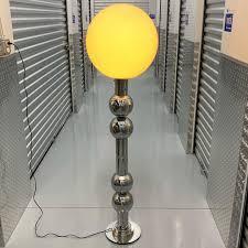"Abigail Bell Vintage on Instagram: ""Get this insane chrome lollipop floor  lamp now before she goes on Chairish for $$$!"" in 2020   Floor lamp, Lamp,  Vintage bell"