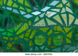 mosaic garden ball in multicolored