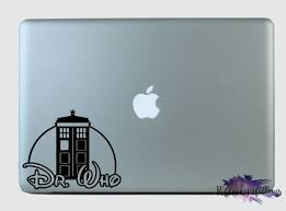 Doctor Who Disney Inspired Mashup Laptop Car Window Vinyl Decal Sticker