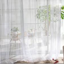 Kids Room Or Bedroom Sheer Curtains For Eco Friendly Style