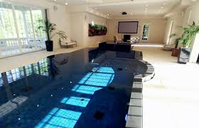 rooms home theater with swimming pool