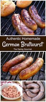 homemade german bratwurst the daring