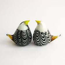 china antique murano glass bird for