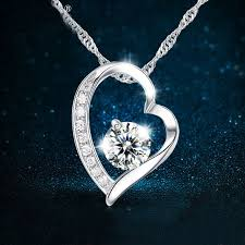 women choker chain silver necklaces