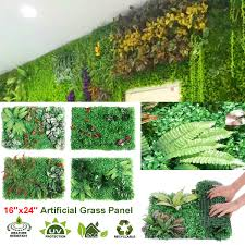 40x60cm Artificial Topiary Hedges Panels Plastic Faux Shrubs Fence Mat Greener Fence Hedge Fake Vertical Garden Green Wall Ivy Mat Lazada Ph