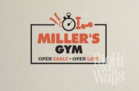Fitness Custom Home Gym Wall Decals Vinyl Art Stickers