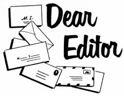 Image result for letter to the editor