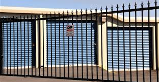 Wrought Iron Security Fencing A Stylish Asset For Any Self Storage Bu Inside Self Storage