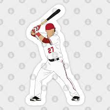 Mike Trout Angels Mike Trout Sticker Teepublic