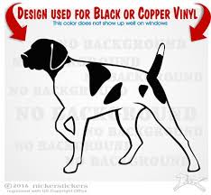 Custom German Shorthaired Pointer Dog Decals Stickers Nickerstickers