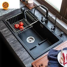 posite stone sink granite kitchen