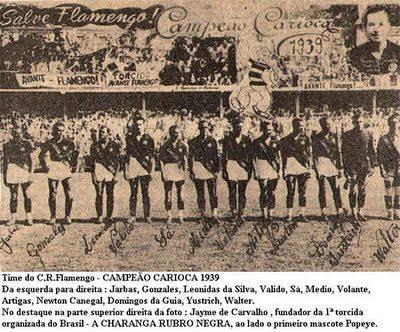 """Resultado de imagem para campeao carioca de 1939"""""""