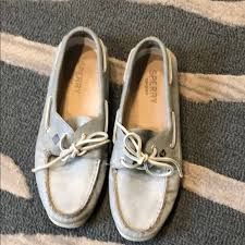 sperry shoes womens gray topsider