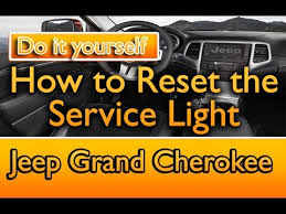 reset jeep grand cherokee service light