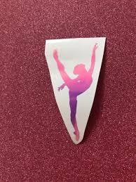 Dance Decal Dancer Decal Dance Sticker Car Decal Vinyl Etsy
