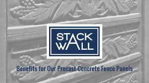 Concrete Fence Manufacturing For Your Property Stack Wall