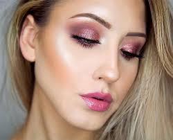 pink party makeup fashion dresses