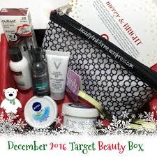 unboxing target december 2016 beauty