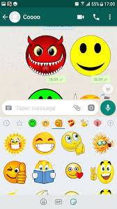 ملصقات ايموجي مضحكه Wastickerapps For Android Apk Download