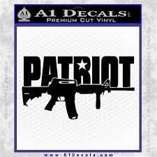 Patriot Ar 15 Decal Sticker Dw A1 Decals