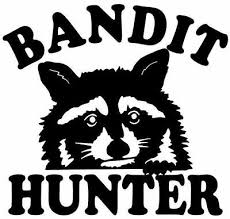 Coon Hunting Bandit Hunter Decal Truck Windows Raccoon Stickers Ebay