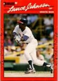 Mavin | 1990 Donruss Lance Johnson 573