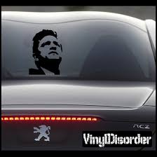 Johnny Cash Face Decal
