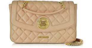love moschino quilted eco leather