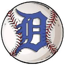 Detroit Tigers Baseball Decal Nostalgia Decals Retro Vinyl Stickers Nostalgia Decals Online