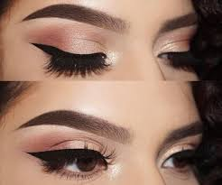 light eye makeup steps with pictures