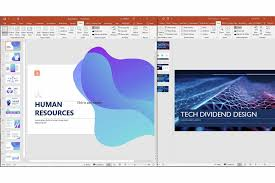 powerpoint slides to another presentation