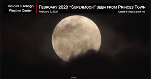 The First Visible Supermoon for 2020 ...