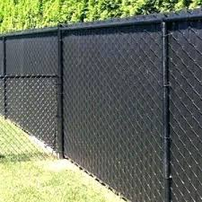 Black Chain Link Fence Cost Prices Comparison Fence Guides