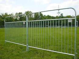 Pedestrian Barricade Temporary Fencing Barrier Galvanized Steel Welded Wire Fence Of Quality Wire Mesh Fence Panels Wiremeshcurtain