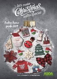asda festive home guide 2019 by asda