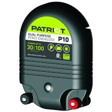 Patriot Patriot P10 Dual Purpose Fence Energizer 1 0 Joule In The Electric Fence Chargers Department At Lowes Com