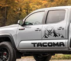 Product Toyota Tacoma Trd Sport Mountains Expedition Graphics Side Stripe Decal