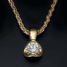 diamond solitaire necklace diamond