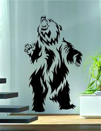 Bear Tribal Design Decal Sticker Wall Vinyl Decor Art Boop Decals