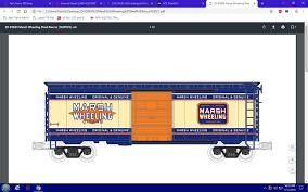 35-74026 Rebuilt Steel Box Car [Hi-Rail Wheels) - Marsh Wheeling ...