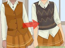uniform without makeup wikihow