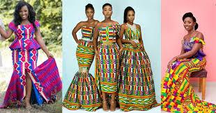 glamorous african wedding dresses