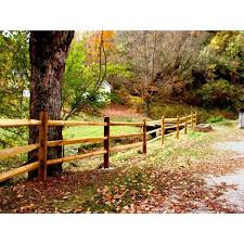 Unbranded 4 In X 4 In X 7 Ft Pressure Treated Pine 3 Hole Split Rail End Post Wvsr3211 The Home Depot