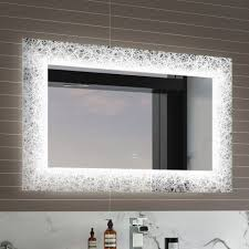 bathroom mirror lights led mirror