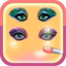 amazing lips up eyes on the app