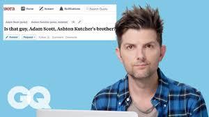 Adam Scott Goes Undercover on Reddit, Instagram, and Twitter ...