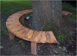 tree seats garden furniture modern