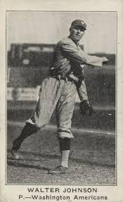 Top Walter Johnson Baseball Cards, Vintage, Tobacco, Rookies, Best