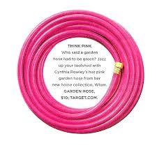 pink garden hose garden hose pink