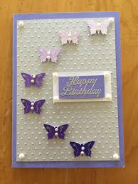 Butterfly Birthday Card Con Imagenes Tarjetas Manualidades Tarjetas De Boda